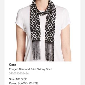 NWT Black & White Scarf